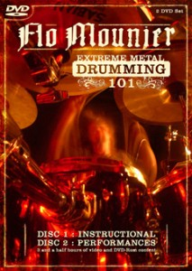 Flo Mounier Intense Metal Drumming